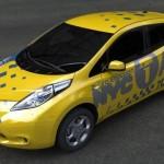 """Nissan Leaf: los nuevos """"yellow cabs"""" de Nueva York"""