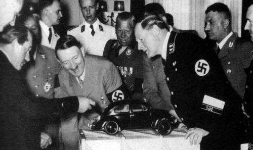 Volkswagen Beetle e Hitler