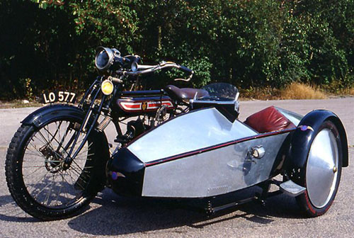 Sidecar Jaguar
